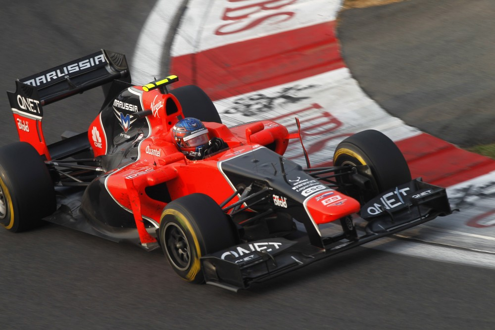Charles Pic - Marussia F1 Team - Marussia MR01 - Cosworth
