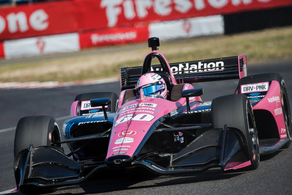 Jack Harvey - Meyer Shank Racing - Dallara DW12 - Honda