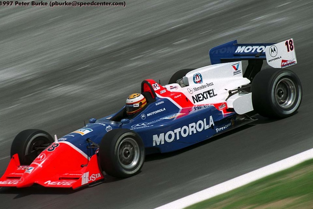 Mark Blundell - PacWest Racing - Reynard 97i - Mercedes