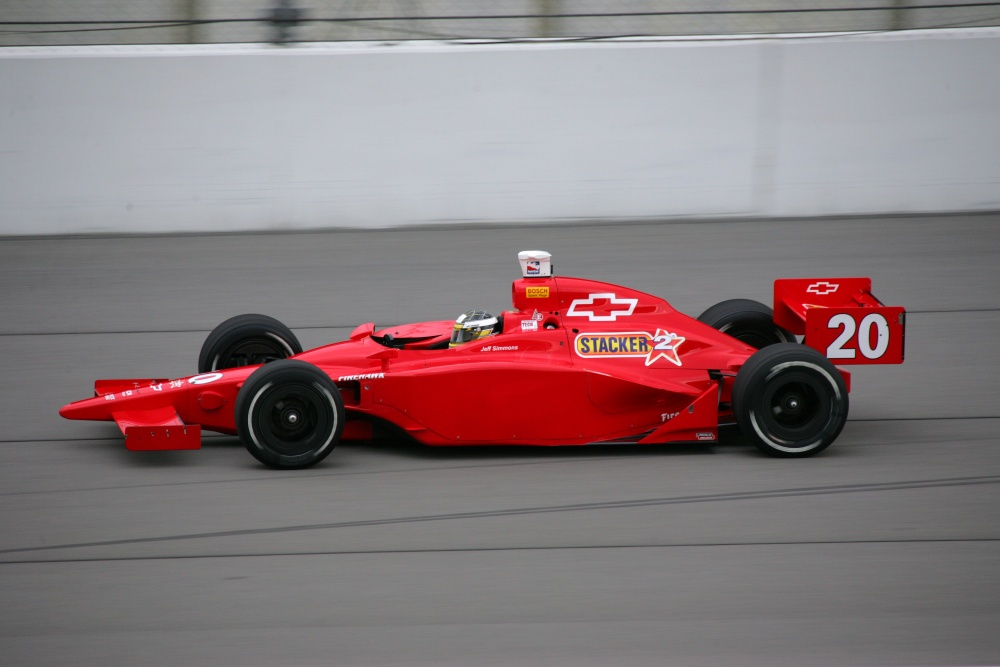 Jeff Simmons - Patrick Racing - Dallara IR-03 - Chevrolet