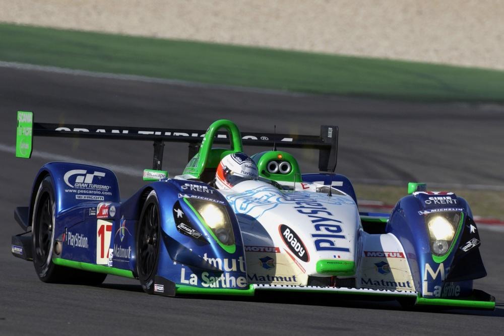 C Hybride Judd Race Car