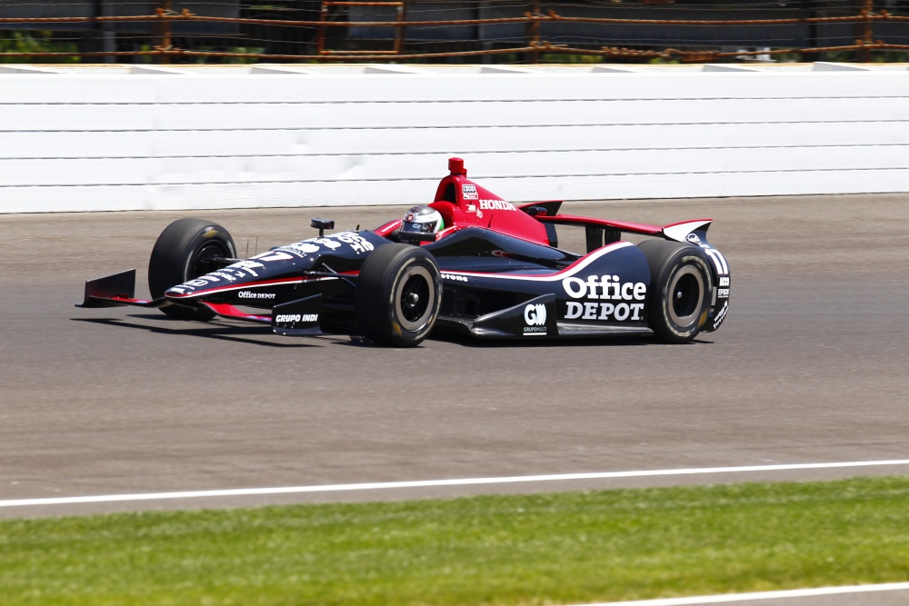 Michel Jourdain jr. - Rahal Letterman Lanigan Racing - Dallara DW12 - Honda