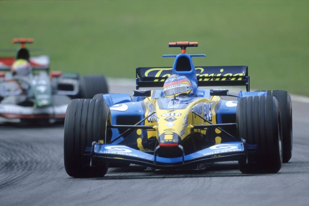 Jacques Villeneuve Renault F1 Team Fia Formula 1 World