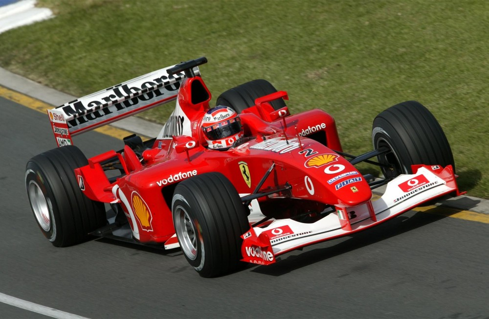 Photo Scuderia Ferrari Ferrari F2002 Barrichello 4163   4163 on race car circuits