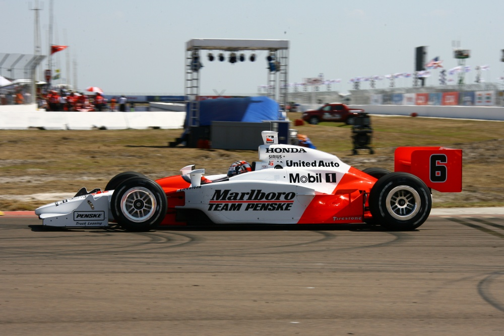 Sam Hornish - Team Penske - Dallara IR-05 - Honda