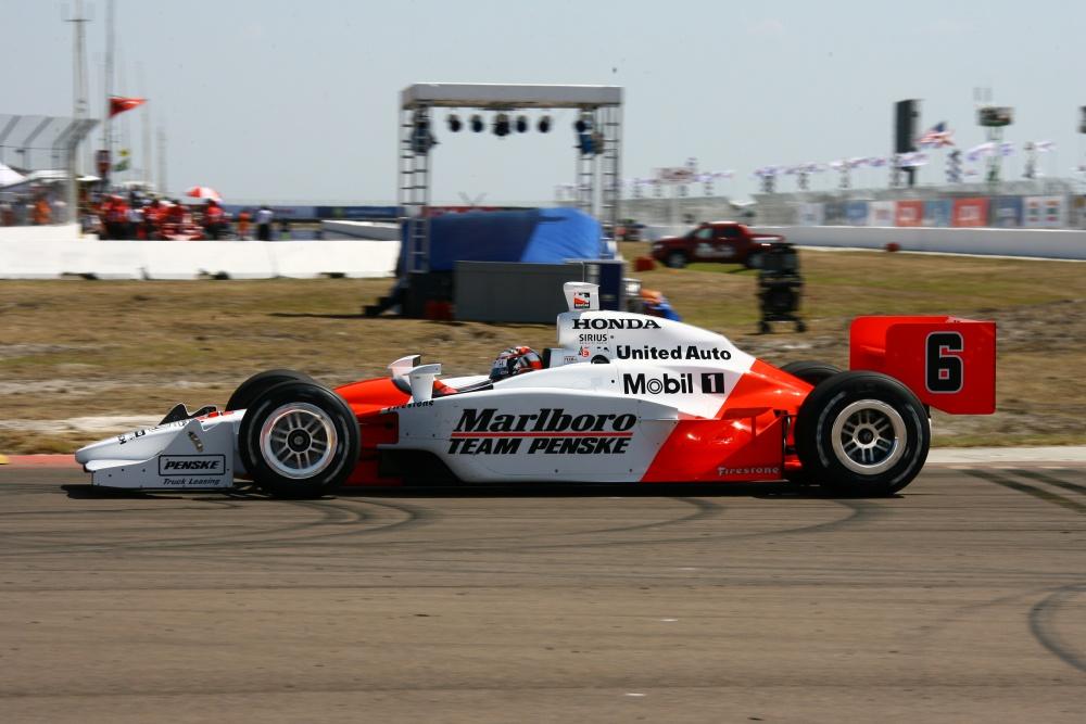 Sam Hornish - Team Penske: IRL IndyCar Series 2006 - Photo ...