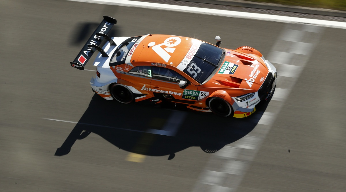 Jamie Green - Team Rosberg: DTM (German Touringcar Masters ...